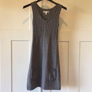 Aeropostale gray sweater dress